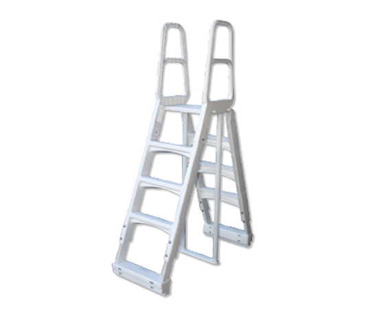 A Frame Safety Ladder Ladders Accessories Pool Parts